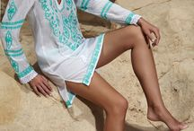 Beach Fashion - Aqua & Turquoise