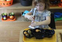 OCTOBER ACTIVITIES / Art projects and Practical Life Activities For October.