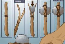 вяжем узлы  каменный топор