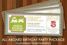 Birthday party ideas / by JeNeil McKenna