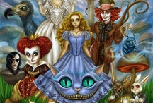 Inspiration Board: Alice in Wonderland / Down the rabbit hole of Inspiration with Alice!