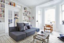 Stue/soveværelse/kontor