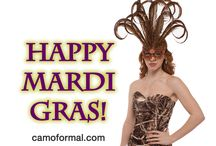 Mardi Gras and Camo Formals / Camo at Mardi Gras