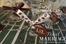 Food Marriage Party Ideas / Party Planning is easy with these Party Ideas from FoodMarriage.com - we love a good theme, too!