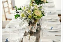 Table Settings / by Sarah @ Cozy.Cottage.Cute.