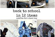 Jayden school shopping