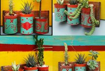 latas decoradas reciladas
