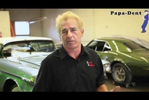 Papa Dent Videos / Learn all about the Papa Dent tool and the many uses with these videos. Stainless steel repair, PDR, Home repair, Hub cap repair, auto body, hail damage. Classic car restoration, Muscle car restoration.