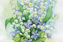 принты. цветы