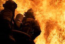 sapeur-pompier / Ma première passion..