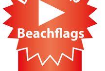 """Beachflags / Betaalbare beachflags met goede kwaliteit. Unieke garantie op doek en hardware. Als enige van Nederland producten met een """"komo"""" certificaat."""