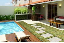 terrazas y piscinas