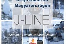 J-LINE / Home Art termékek a J-Line-től. 2016 szeptemberétől Magyarországon is kapható a LAMON forgalmazásában