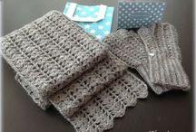 écharpe facile crochet
