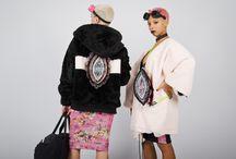 PussyPower Collection FW15 / Photography: Ari Gardiazabal Models: Raila Do Vale y Noelia Diosdado Fashion designer, textile designer: Arteporvo Unestadomental (Azahara Garcia)