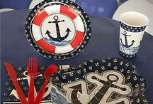 Nautical Baby Shower / Nautical Baby Shower Ideas / by Maternity and Baby Showers