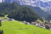Dolomity a Tyrolsko / Zajímavá místa k navštívení v oblasti Dolomit a tyrolských alp.