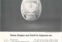 Egg / Vw drawn on an egg