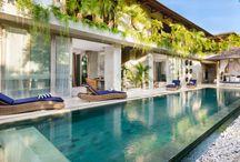 Bali Villas / Showcasing a few of our fabulous villas in Seminyak, Bali that are perfect for a family holiday. #balivillas #seminyakvillas