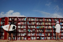 The Greatest Libraries on the Beach / The sweet taste of books on your summer vacation