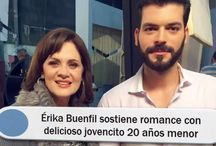 Érika Buenfil sostiene romance con delicioso jovencito 20 años menor