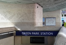 Green Park / Pictures and photo of the area in and around Green Park tube station, London. / by Randomly London