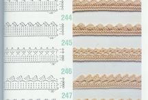 Randjes haken / Edging crochet