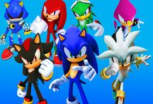 sonic's rivals / sonic and his rival's