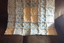 Rag quilt / First attempt at a rag quilt