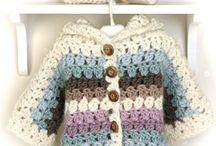 Abrigos y vestidos a crochet