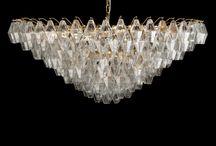 Murano Mid-Century Chandeliers / Murano Glass Chandeliers Mid-century Style