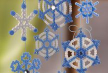 ornamenti natalizi - Christmas ornaments / Decorazioni natalizie, halloween, san valentino, pasqua... e feste varie