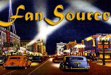 FanSource / FanSource is a fan's emporium of all the latest information about some of your favorite stars - where to write for an autographed photo and be guaranteed a response, join official fan clubs, opportunties to purchase exclusive books, CDs and DVDs - autographed by the artist, FanSource special offers, news about FanSource special events, as well as links to other sites for you to visit that FanSource recommends.