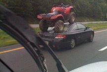 Quading / If you don't have a trailer.....