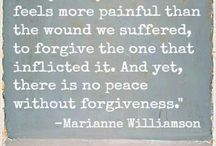 Forgiveness Quotes / Quotes about forgiveness. One of the hardest things to do, yet one of the most rewarding