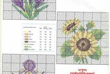 Cross Stitch - Flower Patterns