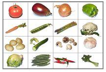 Zelenina / materiály do mateřské školy