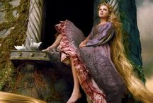 Rapunzel WIP / One day, I thought: what about a character who had been locked in a tower? and voila, this story was born.