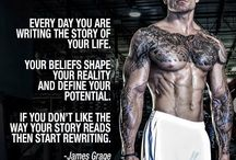 Weight Lifting – Motivation & Inspiration / Pictures and quotes to keep me on track for the long haul to succeed. / by Mike Marsee