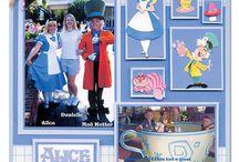 Disney Scrapbooking Ideas / Disney Scrapbook page ideas and inspiration