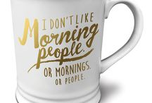 Teacups & Coffee Mugs / Because tea and coffee.