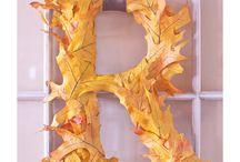 Decoración de Otoño/ Autumn Decoration