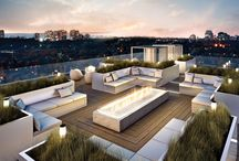Roof terrace design