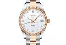 Valentine's Day 2018 Watches from Longines / Swiss watchmaker Longines presents elegant watches for Valentine's Day 2018. https://shop.us.longines.com/