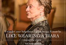 Downton Abbey memorable sayings