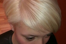 Haircolours blonde