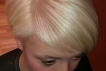 Haircolours blonde