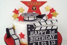 movie ticket cakes