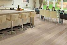 Modern/Contemporary Style Flooring / Wood Flooring that creates a modern or contemporary look and feel in a room.