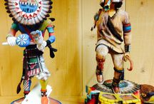 Native american hand made Kchina Dolls